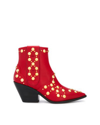 Casadei Daytime Studded Cowboy Boots