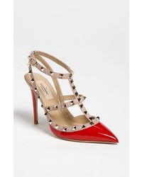 Garavani rockstud t strap pump medium 186481