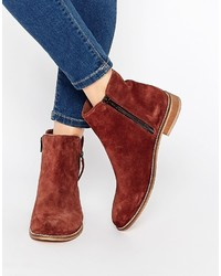 Asos Collection Airwave Suede Ankle Boots