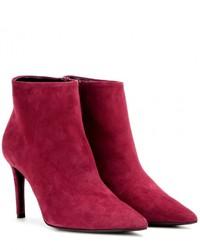 Balenciaga Suede Ankle Boots