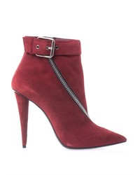Giuseppe Zanotti Zip Suede Ankle Boots