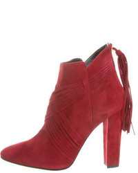 Oscar de la Renta Hairs 100 Ankle Boots W Tags