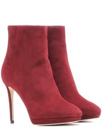 Jimmy Choo Harvey 100 Suede Ankle Boots