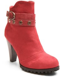 Kisses By 2 Lips Too Too Lift High Heel Ankle Boots