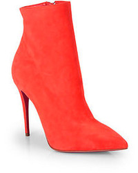 Christian Louboutin So Kate Suede Booties