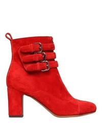 Tabitha Simmons 70mm Nash Suede Buckle Ankle Boots