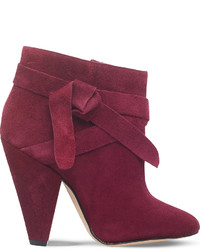 Nine West Acesso Suede Ankle Boots