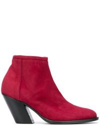 A.F.Vandevorst Side Zip Ankle Boots