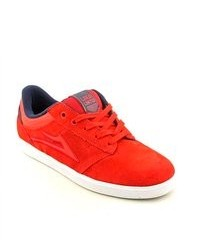 Lakai Linden Red Suede Skate Shoes Eu 385