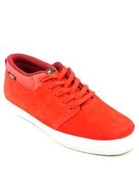 Lakai Marc Red Suede Sneakers Shoes