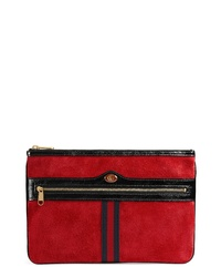 Gucci Ophidia Suede Pouch