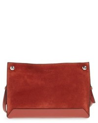 Compass suede crossbody bag red medium 4913067