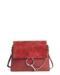 Chloé Faye Suede Leather Shoulder Bag