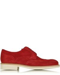 a. testoni Atestoni Garofano Suede Derby Shoe