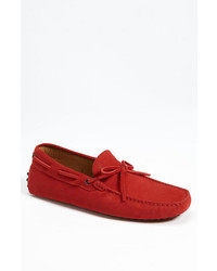 Gommini tie front driving moccasin medium 210964