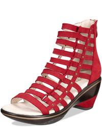 Jambu Brookline Wedge Sandals Shoes