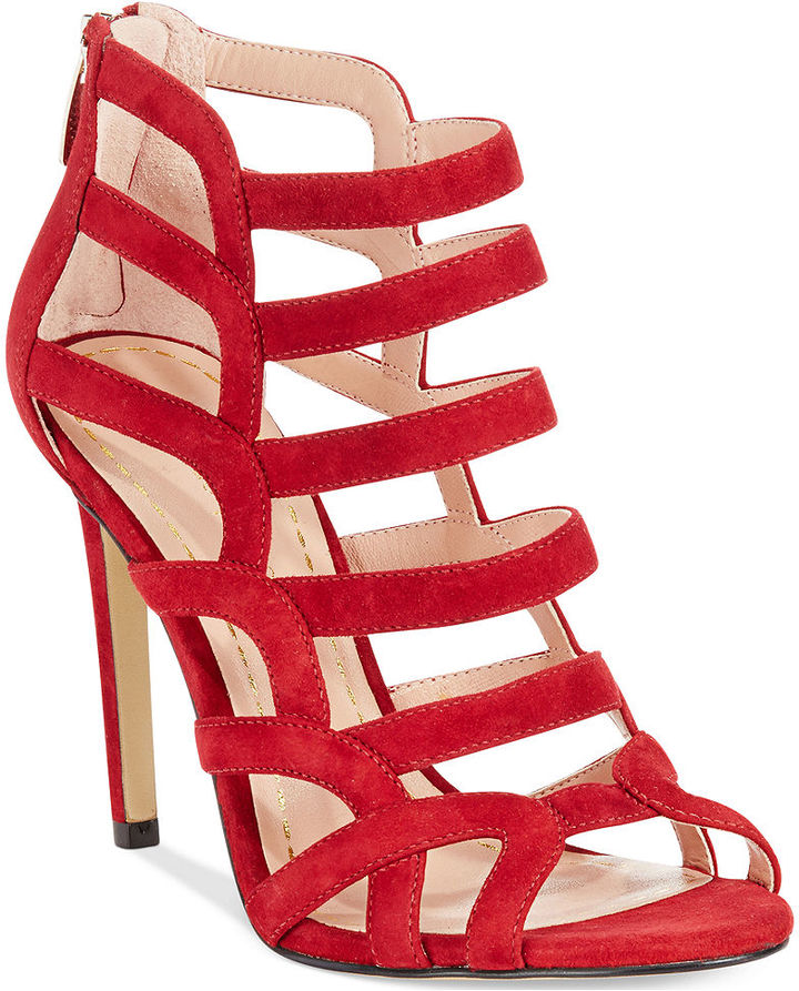 aaca8e09f57 $110, Enzo Angiolini Brien Caged Sandals