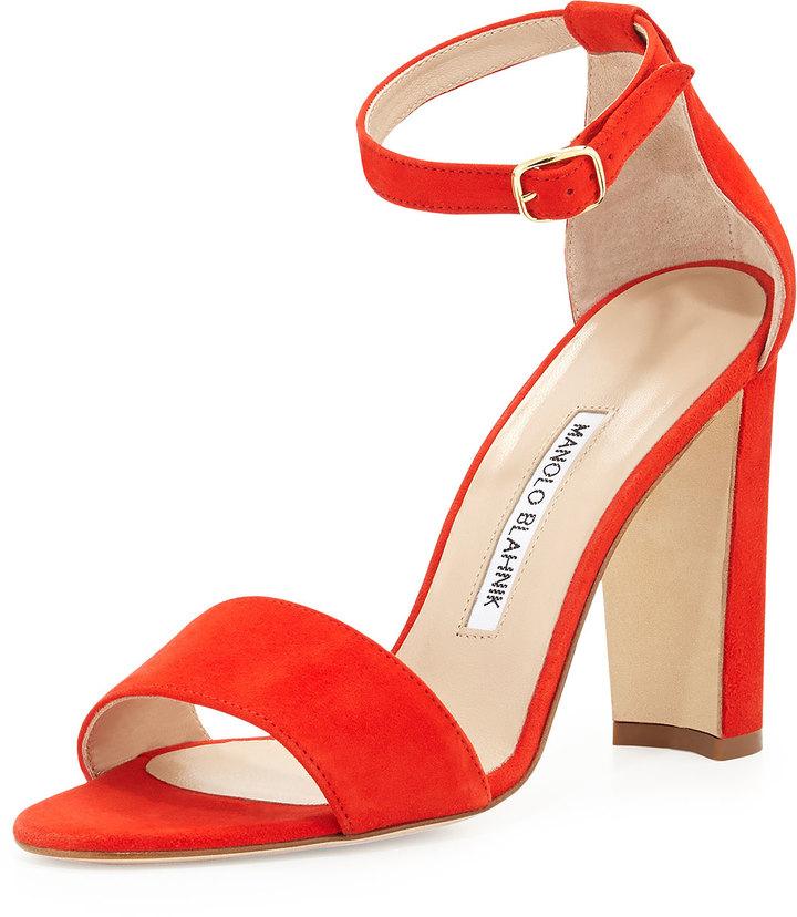 red high heel sandals uk