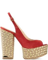 Paloma Barceló Chunky Heel Sandals