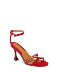 Jagga R Crystal Embellished Sandal