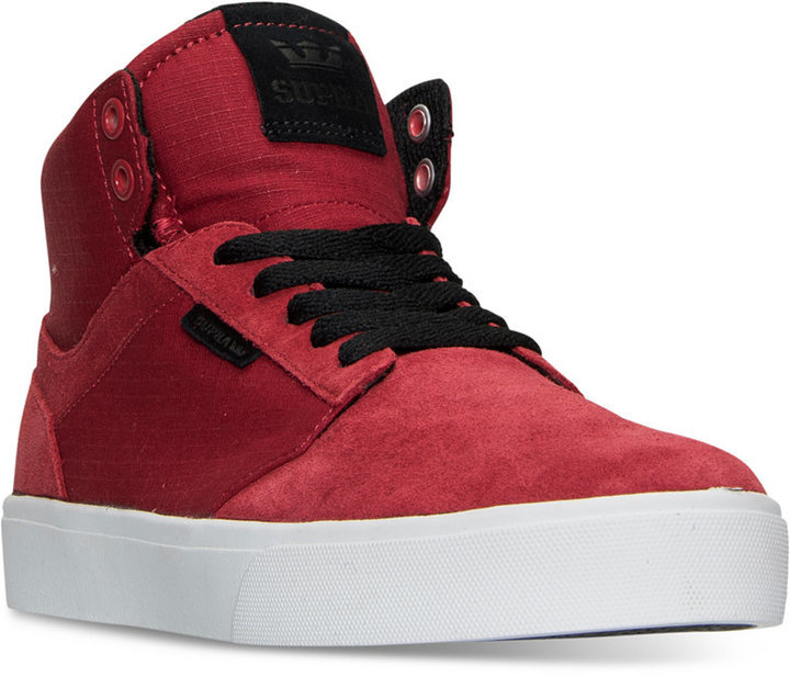 28c5c9d0a4d12 ... Supra Yorek High Top Casual Skate Sneakers From Finish Line ...