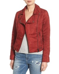 Faux suede moto jacket medium 1201465