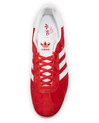 159ebf3ff7 ... adidas Gazelle Original Suede Sneaker Redwhite
