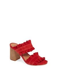 Free People Rosie Ruffle Slide Sandal