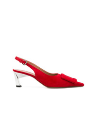 Marni Detail Slingback Pumps