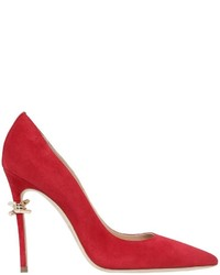 Dsquared2 110mm Babe Barbed Wire Suede Pumps
