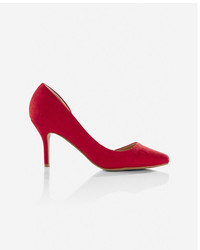 Express Pointed Toe Dorsay Pump