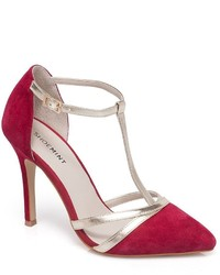 Shoemint Bourne Strappy Suede High Heels