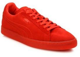 online store a55e4 6124e $70, Puma Suede Lace Up Sneakers