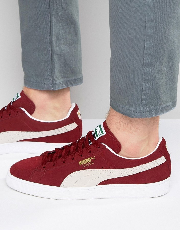 cheap for discount ba5b7 6a59c $63, Puma Suede Sneakers