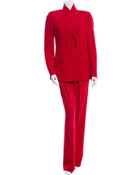 Sonia Rykiel Double Breasted Two Piece Pantsuit