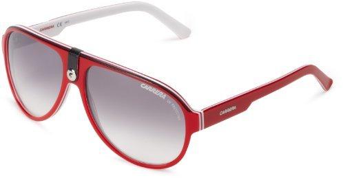 Мужские красные очки солнцезащитные