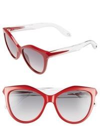Givenchy 55mm Retro Sunglasses Black Crystal