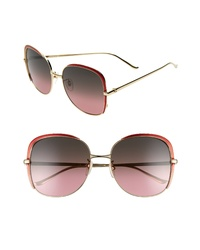 Gucci 58mm Gradient Sunglasses