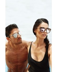 728053d6aa7 ... Le Specs Caliente 53mm Cat Eye Sunglasses Mist Firecracker