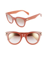 Rag & Bone Core 50mm Cat Eye Sunglasses