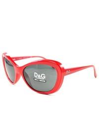 D&G Sunglasses Dd 8083 58887 Red 57mm