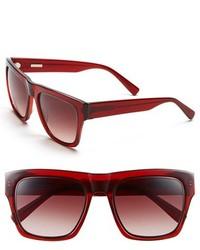 Derek Lam Mercer 54mm Sunglasses Red Brown