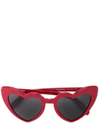 Saint Laurent Heart Shaped Sunglasses