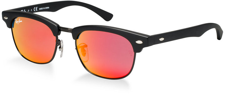 af63e19550 ... Ray-Ban Junior Sunglasses Rj9050s Clubmaster Kids ...