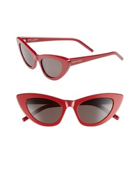 Saint Laurent Lily 52mm Cat Eye Sunglasses