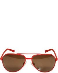 Dolce & Gabbana Metal Aviator Sunglasses Size 610y