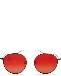 Illesteva Mirrored Wynwood Sunglasses 51mm