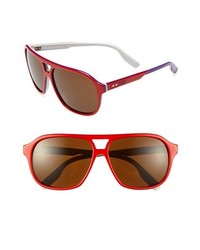 Nike Mdl295 Sunglasses Red Purple One Size