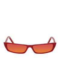 Acne Studios Red Agar Sunglasses
