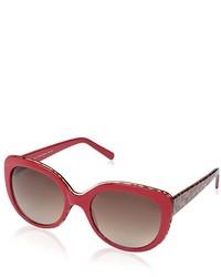 Society New York Sunglasses Red